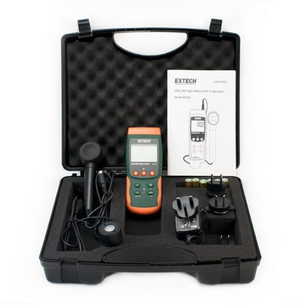 Extech Light Meter Sdl470 Kit